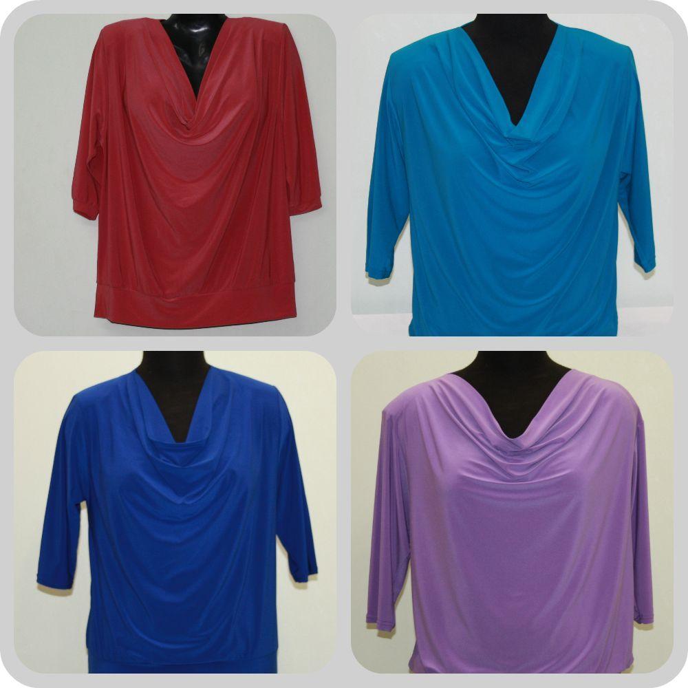 Блузки Купить Мелким Оптом